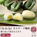 笹カスタード 「Sa Sa Sa」カスタード風味 10個×2セット【さささ堂】【長岡の和菓子】【水まんじゅう】