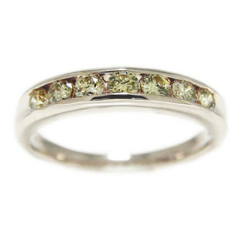PT900プラチナ リング ブラウンダイヤモンド レール留め エンゲージ マリッジ 指輪 ブライダル 結婚指輪 誕生石
