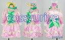 東京ディズニーのヒッピティ・ホッピティ・スプリングタイムのダンサー(ピンク)★コスプレ衣装 2