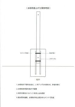 水栓柱底上げ参考図