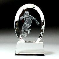 サッカー、サッカーのトロフィー、トロフィー、記念、賞、表彰状、名入れ、メッセージ
