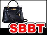 エルメスハンドバッグショルダーバッグケリー28外縫いボックスカーフ黒ゴールド金具〇O刻印本物ランクA