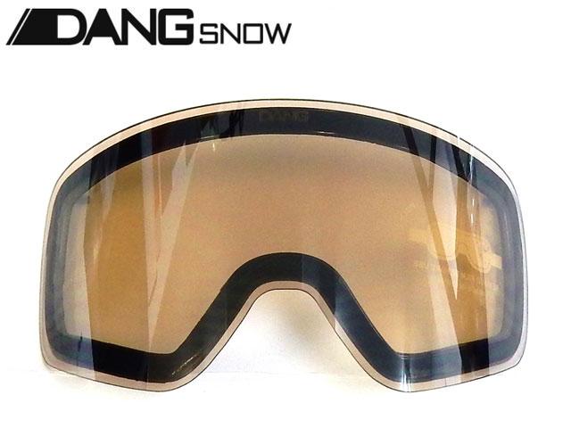 スキー・スノーボード用アクセサリー, ゴーグル  DANG SNOW TWENTY20 Clear Smoke Silver Mirror Replacement Lens (low light lens) UV DANG SNOW TWENTY20