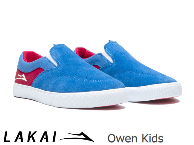 靴, スニーカー  Lakai 2020SS OWEN KIDS BLUERED SUEDE SKATE