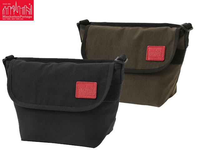 男女兼用バッグ, ショルダーバッグ・メッセンジャーバッグ  CORDURA Waxed Nylon Fabric Collection Casual Messenger Bag BLACK D.BROWN Manhattan Portag