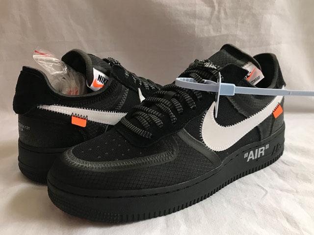 メンズ靴, スニーカー  NIKE AIR FORCE 1 LOWOFF-WHITETHE 10 1 BLACKWHITECONEBLACK DEADSTOCK