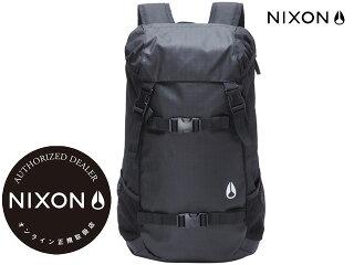 【国内正規品】ニクソンNIXON-バックパックランドロック2LANDLOCK2ALLBLACKNC1953000