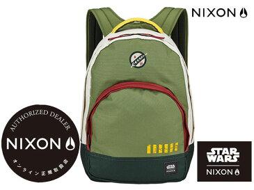 【国内正規品】 ニクソン NIXON バックパック バッググランビュー スターウォーズ GRANDVIEW BACKPACK (NIXON×STAR WARS) BOBA FETT GREEN ボバフェット グリーン バックパック バッグリュック
