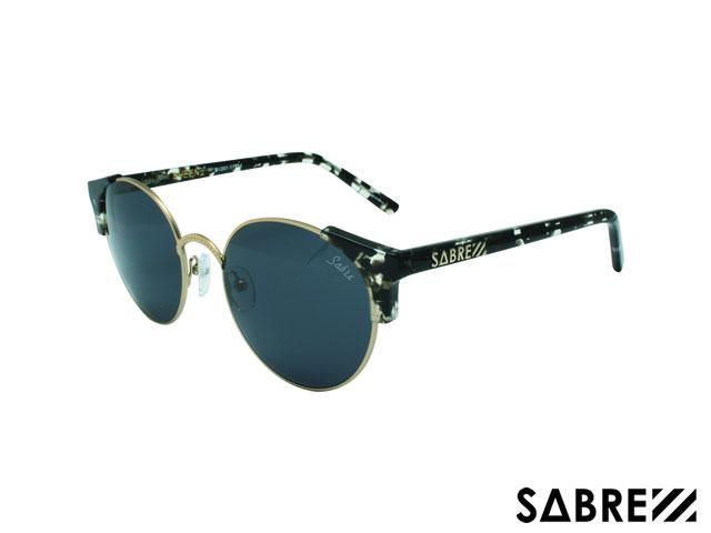 眼鏡・サングラス, 眼鏡  SABRE sv207-1771j SHEENA BLK TORTESHINY GOLDGREY