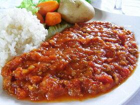 『代引不可』トマトカレー 5個セットトマト、牛挽肉、ソテーオニオン、人参にカレー粉と香辛料で仕上げたオリジナルカレーです。辛い物が好きな方にお勧め。家庭で簡単にできるおいしさ満点の逸品料理。【HLS_DU】【RCP】【軽税】
