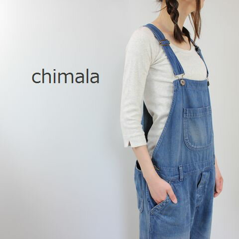 chimala(チマラ) DENIM OVERALL cs17-wp09a ★即日発送★