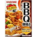 【訳あり】 賞味期限:2019年4月11日 カゴメ BBQ バーベキュー 豚焼き用 (100g) 2〜3人前 炒め用ソース