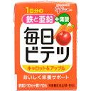 【A】 アイクレオ 毎日ビテツ (美鉄) キャロット&アップル 紙パック (100ml) 鉄 亜鉛 葉酸 栄養機能食品