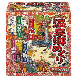 [A] Erdpharmazeutische Hot Spring Village Tour (30 g x 18 Packungen) Badesalz