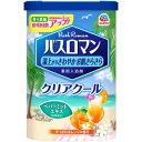 【訳あり】 アース バスロマン クリアクール すっきりオレンジの香り (600g) 薬用入浴剤