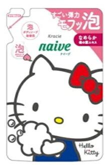 Kracie 天真泡沫身體肥皂筆芯 (450 毫升) Hello Kitty 設計