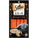 大将もビックリ!SCBで買える「【訳あり】 マースジャパンリミテッド シーバ とろ〜り メルティ 香りのまぐろ味 (12g×4袋入 ペット 猫用 おやつ」の画像です。価格は127円になります。