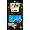 大将もビックリ!SCBで買える「【訳あり】 マースジャパンリミテッド シーバ とろ〜り メルティ 旨みがつお味 (12g×4袋入 ペット 猫用 おやつ」の画像です。価格は127円になります。