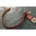 【在庫処分】 カドック オイルレザー カラー レッド (29〜34cm) 首輪 ペット用品
