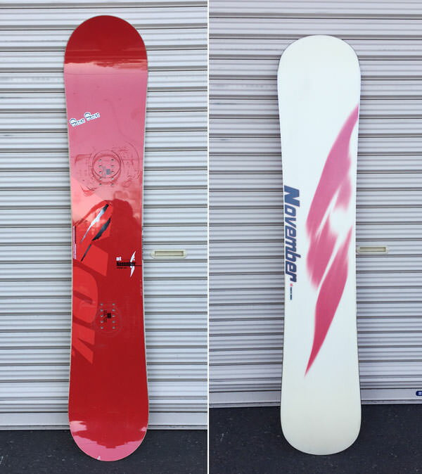 ノーベンバー レンタルスノーボード ビンディング付き 5日間定額レンタル NONEMBER ART 147 SNOWBOARD ディレクショナル スノーボード