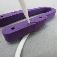 くびにかけるくん カラータイプ紫色