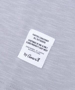 """""""CavariA【キャバリア】スラブ天竺キーネック半袖Tシャツ/全7色""""【あす楽対応】【Tシャツメンズ半袖キーネックスラブ天竺カットソー無地シンプルインナートップスストレッチ黒白ピンクグレーネイビーカーキブランドBITTER系ビター系】"""