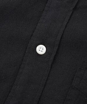【送料無料】綿麻7分袖シャツ/全12色【あす楽対応】【薄手白ホワイトネイビーピンクカーキサックスML春夏秋冬2021】【ゆうパケット1】【SALE】
