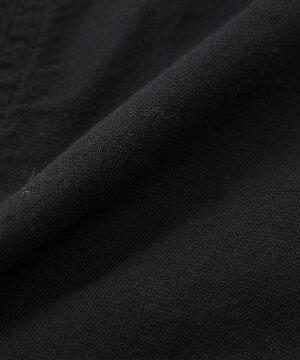 【送料無料】綿麻7分袖シャツ/全12色【あす楽対応】【薄手白ホワイトネイビーピンクカーキサックスML春夏秋冬2021】【ゆうパケット1】