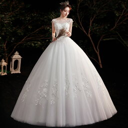 ウェディングドレス ウエディングドレス ブライダルドレス ノースリーブ フォーマル 可愛い花嫁ドレス フリルボリュームドレス 海外挙式 旅行海撮影ワンピー 結婚式披露宴演奏会ドレス