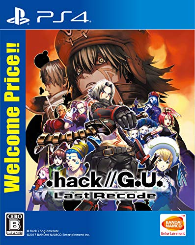 【PS4】.hack//G.U. Last Recode Welcome Price!!画像
