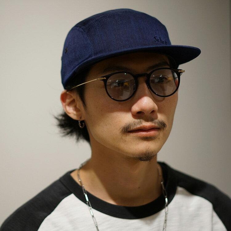 Schott/ショット 公式通販 | 【直営店限定】made in JAPAN Schott×FACTORY MADE/ショット×ファクトリーメイド/DENIM JETCAP/デニムナイロン ジェットキャップ デニム 帽子 キャップ