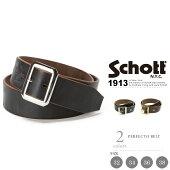 Schott 公式通販   レザーベルト・ステアハイド(牛革)PERFECTO BELT【送料無料】