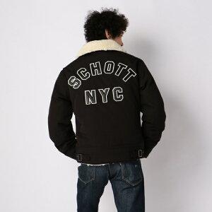 Schott/ショット公式通販|SCHOTT/ショット/URBANB-3JACKET/アーバンB-3ロゴ【送料無料】
