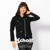 Schott/ショット 公式通販   SCHOTTショット WOMEN'S JERSEY RIDERSジャージー ライダース【送料無料】