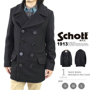 Schott/ショット オフィシャルサイトメンズ ファッション アウター ピーコート PコートSchott/...