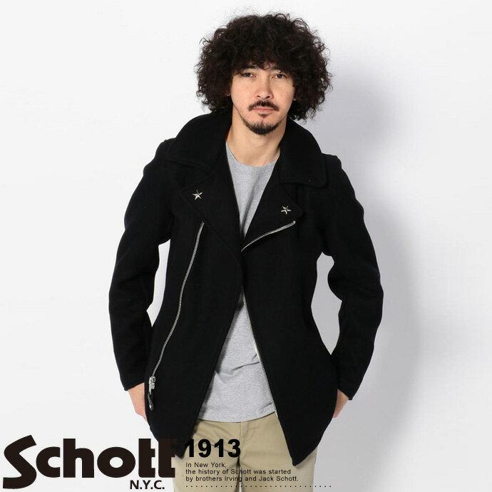 Schott/ショット 公式通販 | 779 ウール フロントジップ ピーコート779 WOOL PEA COAT FRONT ZIP:Schott