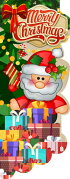 クリスマスのぼり旗/MerryChristmas