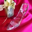 ガラスの靴 シンデレラ クリスタル ハイヒール 名入れ彫刻無料 誕生日 結婚祝 母の日 ホワイトデー クリスマス インテリア 記念品 プレゼント オススメ 売れ筋 コンビニ受取対応商品