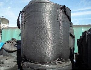 耐候性フレコンバック002黒1TON用 反転ベルト付 10枚入り耐候性1年相当