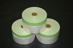 塗装用のマスキングとして便利です布テープ付マスカー 550幅×25m