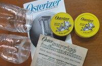 オスタライザーOsterizerガラス製ミニコンテナビンテージ・オリジナル未使用イエロー蓋2種類
