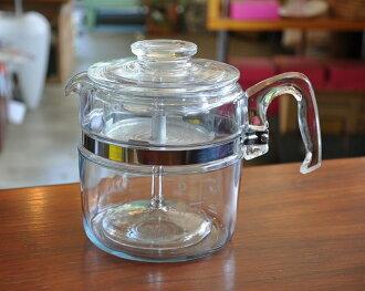 フレームウェア Pyrex 6 Cup and percolator Pyrex PYREX Corning coffee maker