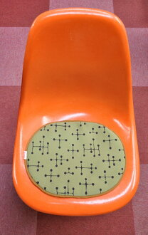 Seat pad Eames ■ original small dots green SCOOPS