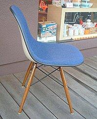 Eames Herman Miller original Lavender fabric side shell eames herman miller Sideshell