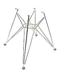 Eames Eiffel base shell Chair for ◆ chrome