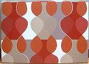 北欧 ウォール・パネル マラガMona Bjork design 【Malaga Red】 サイズL 赤 【送料無料】