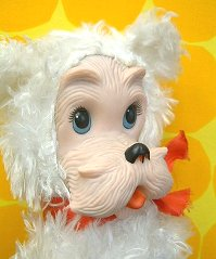 Speaking of ラバーフェイス doll decided to hugely popular Rushton! Terrier Rushton Co