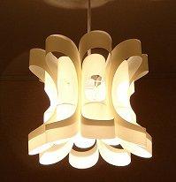 Light lighting artist Otani seafood produce art polypropylene, lamp shade flowers Hana
