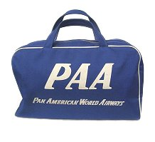 パンアメリカンワールドエアウェイズ PAA Pan am airlines PANAM Boston bag