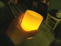 LEDキャンドル電気式で安全+停電時に便利です